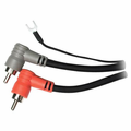 Hosa CRA-203DJ Stereo Interconnect Dual RCA-Same with Ground Wire 3 m