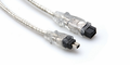 Hosa FIW-94-115 - FireWire 800 Cable 4-pin to 9-pin 15 ft