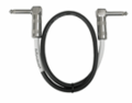Hosa CPE-118 - Guitar Patch Cable Right-angle to Same 18 in