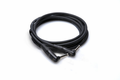 Hosa HGTR-001RR Pro Guitar Patch Cable REAN Right-angle-Same 12 in