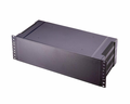 Bud Industries PRM-14460 - Plastic Boxes-PRM series-Plastic Rack mount Box-L19 X W8 D2, 1U Black