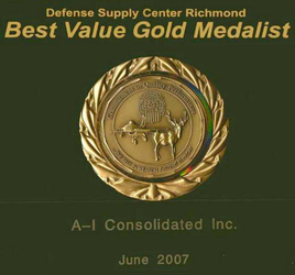 A-I Consolidated DSCR Gold Medalist Award 2007