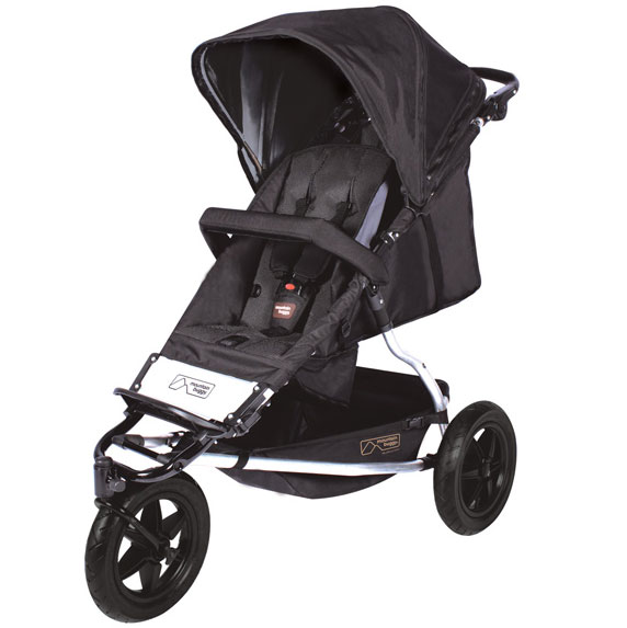Mountain Buggy Plus One Buggy in Black