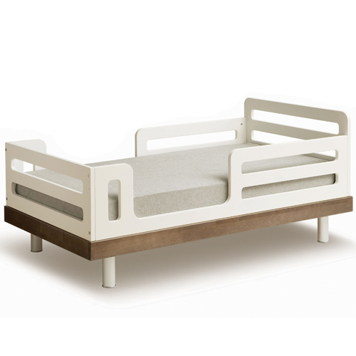 Oeuf Classic Collection Toddler Bed in Walnut