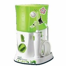 Waterpik WP-260 Waterflosser for Kids, White and Green