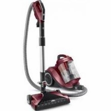 Hoover SH40055 WindTunnel Multi Cyclonic Canister Vacuum, Metallic