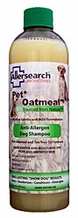 Allersearch 485803 Pet Shampoo+ with Oatmeal 15oz Bottle