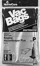 Home Care Industries 44 Type P Vacuum Bag for Regina (2 pack)