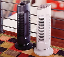 Sharper Image SI397 Ionic Breeze Quadra Compact Silent Air Purifier