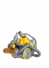 Dyson DC11 All Floors Steel/Yellow Canister Vacuum