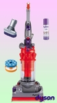 Dyson DC14 Low Reach Upright Vacuum Cleaner - Deluxe Kit