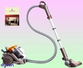 Dyson DC21 Stowaway Canister Vacuum Cleaner Deluxe Kit