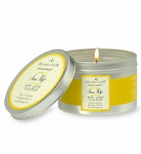 Aromatherapy Soy Lite Candle for Sinus Pain Relief