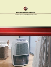 ASC 10 Year Major Component Warranty for Dehumidifiers
