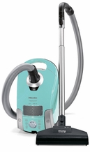 Miele S4212 NeptuneTurquoise Canister Vacuum