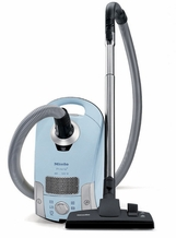 Miele S4212 Polaris Light Blue Canister Vacuum
