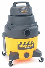 Shop-Vac 9252810 6.25 HP / 8 Gl. Industrial Super Quiet Wet / Dry Vacuum