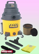 Shop-Vac 9252910 Wet/Dry Vacuum Cleaner - Deluxe Kit