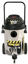 Shop-Vac 9624710 2.5 HP / 10 Gl. Industrial Multi-Purpose Wet / Dry Vacuum