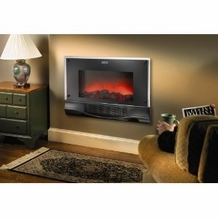 Bionaire BFH5000-UM Electric Fireplace Heater with Remote Control