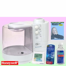 Honeywell HWM2030 Warm Mist Humidifier - Deluxe Kit