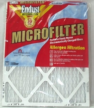 Endust MERV-11 Disposable Furnace Filter - 20 x 20'' x 1''