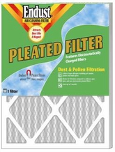 Endust MERV-8 Disposable Furnace Filter - 20 x 20'' x 1''