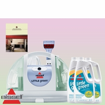 Bissell 1400-5 Little Green Compact Cleaner - Deluxe Kit