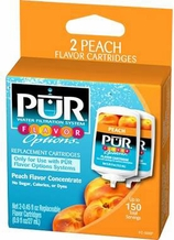 Pur FC-500P Peach Flavor Options Replacement Cartridge (2 pack)