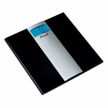 Escali US180B Ultra Slim Bathroom Scale, 400lb