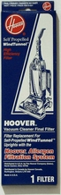 Hoover 40110001 High Efficiency Final Filter