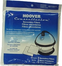 Hoover 40110011 Vacuum Cleaner Secodary Filter (2 pack)