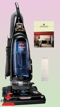 Bissell 3576-6 Cleanview II Upright Vacuum Cleaner - Deluxe Kit