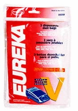 Eureka 52358 Style V Replacement Vacuum Bags (3 pack)