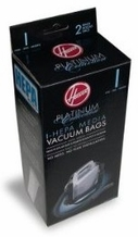Hoover AH10005 Platinum Type-I HEPA Vacuum Bag, 2 Count 3 PACKS OF 2
