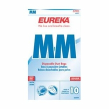 Eureka 60297 Style MM Canister Vacuum Bags 10 pk