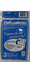 Panasonic MC-V145M Type U-6 Vacuum Cleaner Bags (3 pack)
