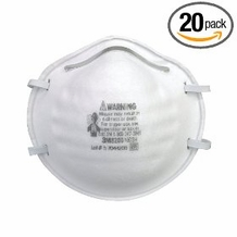 3M 8200 N95 Particle Mask (20 pack)