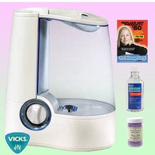 Vicks V745A Warm Mist Humidifier - Deluxe Kit