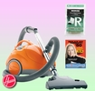 Hoover S1361 Canister Vacuum Cleaner - Deluxe Kit