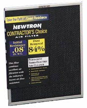 Permanent Newtron Electrostatic Air Filter 14 x 20