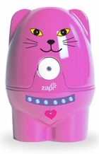 Violight VIO811 Zappi-Doodle Toothbrush Sanitizer for Girls, Pink