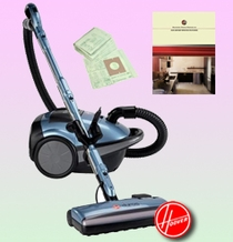 Hoover S3590 Duros Canister Vacuum - Deluxe Kit