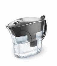BRITA 42632 Chrome Drinking Water Pitcher