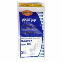 Hoover SR Vacuum Bags for Duros Canisters #401010SR