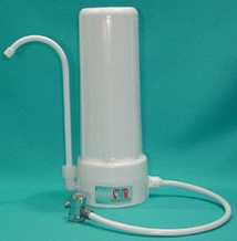 CWR Crown Countertop Water Filter (Durable Plastic Housing)