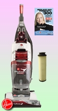 Hoover U8351-900 Bagless Upright Vacuum Cleaner - Deluxe Kit