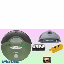 iRobot Roomba 416 Sage Robotic Vacuum Cleaner - Deluxe Kit