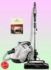 Hoover S3755 Bagless Canister HEPA Vacuum - Deluxe Kit