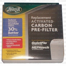 Hunter 30901 Universal Air Purifier Carbon Pre-Filter (2 uses)